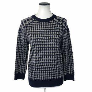 J.Crew Merino Wool Herringbone Sweater #171